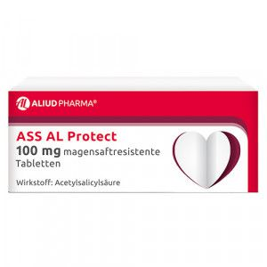 ASS AL Protect 100 mg magensaftresistente Tabletten