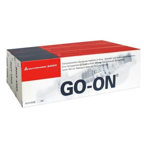 go-on® Fertigspritzen (3x 2,5ml)