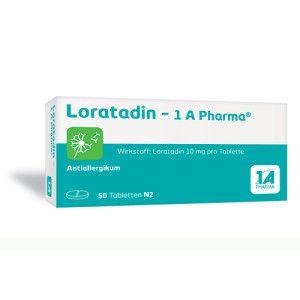 Loratadin - 1 A Pharma® Tabletten | 01879112 | Apotheker.com
