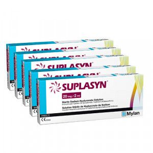 Suplasyn 20 mg/2 ml Fertigspritzen, 5 Stk