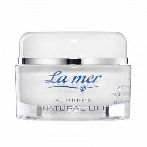 La mer SUPREME Natural Lift Anti Age Cream Nacht ohne Parfum