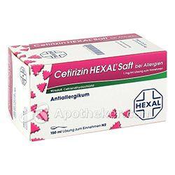 Cetirizin Saft von Hexal