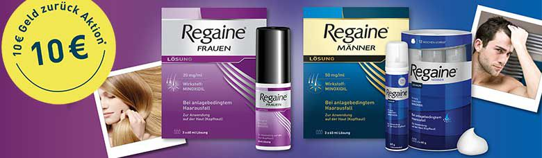 Regaine Aktion