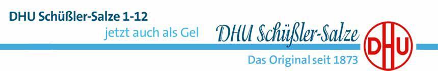 DHU Schüssler - jetzt auch als Gel